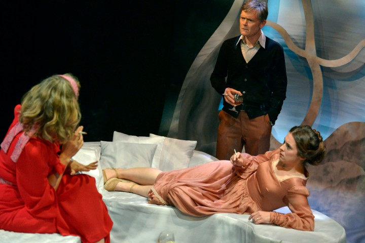 ~ Katie Hayes (Anna), Liam Smith (Deeley), Rebecca Todd (Kate): Photo by Keith Pattison ~