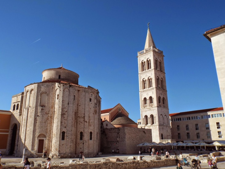 Zadar, Croatia - photo by Katie @ Second-Hand Hedgehog travel blog