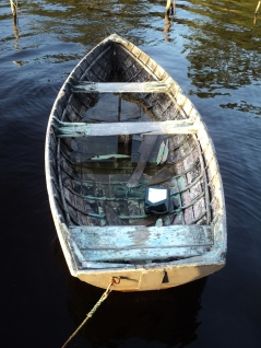 Rowing boat, Tasmania - photo by Katie @ Second-Hand Hedgehog travel blog