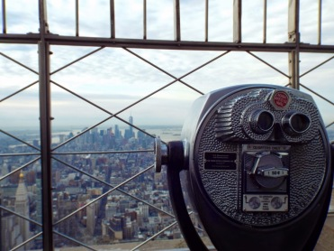 View of Manhattan from the Empire State Building, New York - photo by Katie @ Second-Hand Hedgehog travel blog
