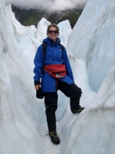 Franz Josef Glacier, New Zealand - photo by Katie @ Second-Hand Hedgehog travel blog