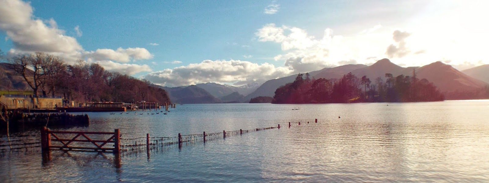Derwent Water: next to theatre by the lake, Keswick