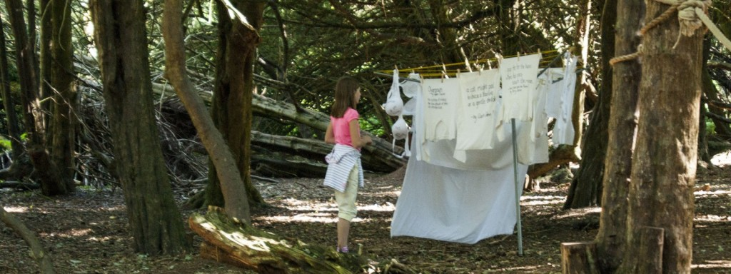 Poetry Installation: Beneath The Boughs