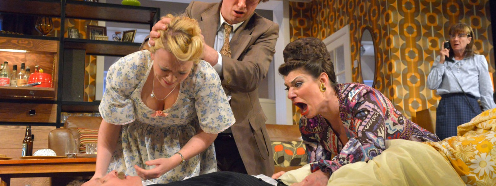 Theatre by the Lake production of ABIGAIL'S PARTY by Mike Leigh directed by Ian Forrest - review by Katie Hale