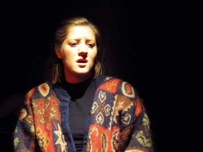 Georgia Figgis as Julia in 'Yesterday' by Katie Hale and Stephen Hyde at the Burton Taylor Studio, Oxford, June 2015