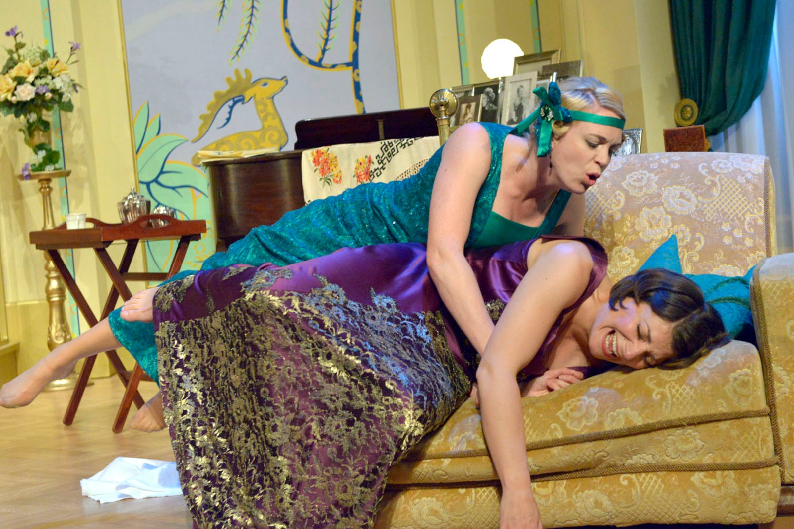Theatre by the Lake production of FALLEN ANGELS by Noel Coward directed by Ian Forrest
