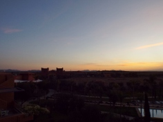 Moroccan sunrise, Marrakesh - Katie Hale, Cumbrian poet / writer