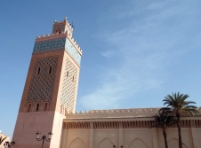 Mosque in Marrakesh - Katie Hale, Cumbrian poet / writer
