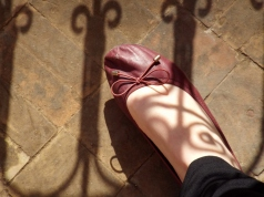 Shadows in the Saadian Tombs, Marrakesh - Katie Hale, Cumbrian poet / writer