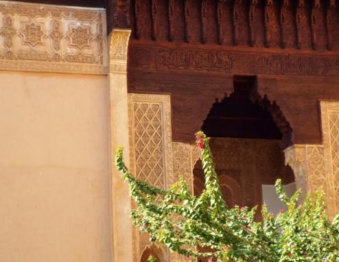Saadian Tombs, Marrakesh - Katie Hale, Cumbrian poet / writer