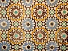 Tiles in the Saadian Tombs, Marrakesh - Katie Hale, Cumbrian poet / writer