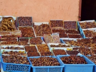 Nute and dates for sale, Marrakesh - Katie Hale, Cumbrian poet / writer