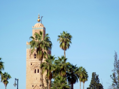 Koutoubia Mosque, Marrakesh - Katie Hale, Cumbrian poet / writer