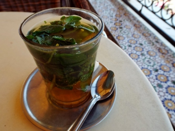Mint tea in Marrakesh - Katie Hale, Cumbrian poet / writer