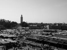 Jemaa el Fna, Marrakesh - Katie Hale, Cumbrian poet / writer