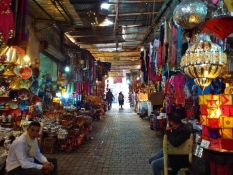 Wandering through the souks, Marrakesh
