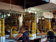 Olive stall, Marrakesh - Katie Hale, Cumbrian poet / writer