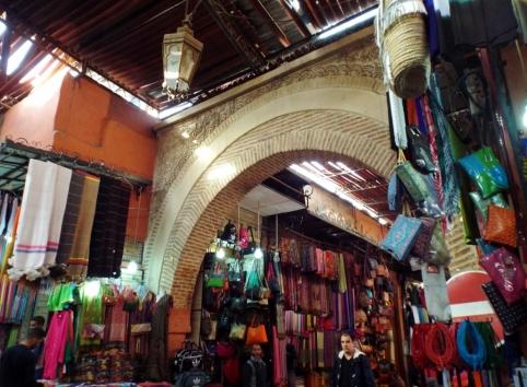Wandering through the souks, Marrakesh - Katie Hale, Cumbrian poet / writer