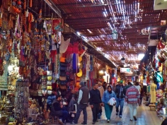 Souk in Marrakesh - Katie Hale, Cumbrian poet / writer