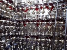 Teapots for sale, Marrakesh - Katie Hale, Cumbrian poet / writer