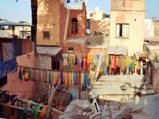 Dyers' district, Marrakesh - Katie Hale, Cumbrian poet / writer