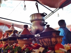 Tagines in Jemaa el Fna, Marrakesh - Katie Hale, Cumbrian poet / writer