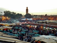 Jemaa el Fna at night, Marrakesh - Katie Hale, Cumbrian poet / writer