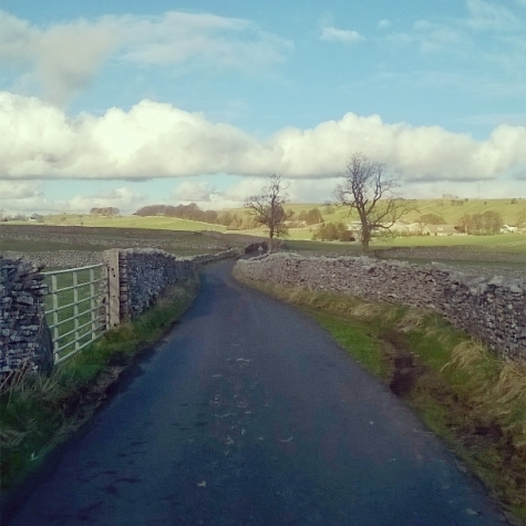 A walk along a country lane never fails to help with my writing
