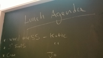 Eden Arts lunch meeting agenda