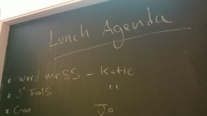 Eden Arts lunch meeting agenda