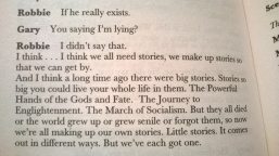 Reading Mark Ravenhill, 'Shopping and F***ing'