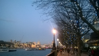 Wandering along the Southbank
