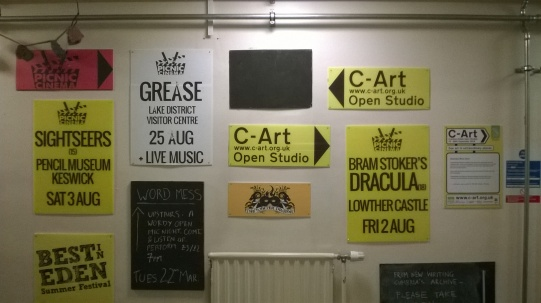The newly decorated foyer at Eden Arts, Penrith
