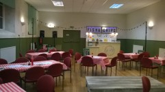 'Chip Shop Chips': production by Box of Tricks Theatre Company in Shap Village Hall with Highilights Rural Touring network