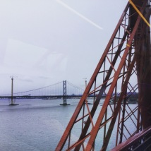 Crossing the Forth Rail Bridge