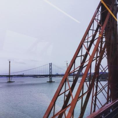 Crossing the Forth Rail Bridge