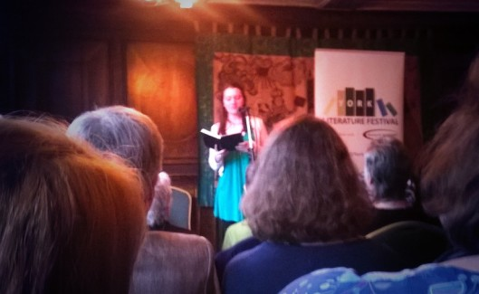 Reading at YorkMix / York Literature Festival poetry competition - Katie Hale, Cumbrian writer & poet
