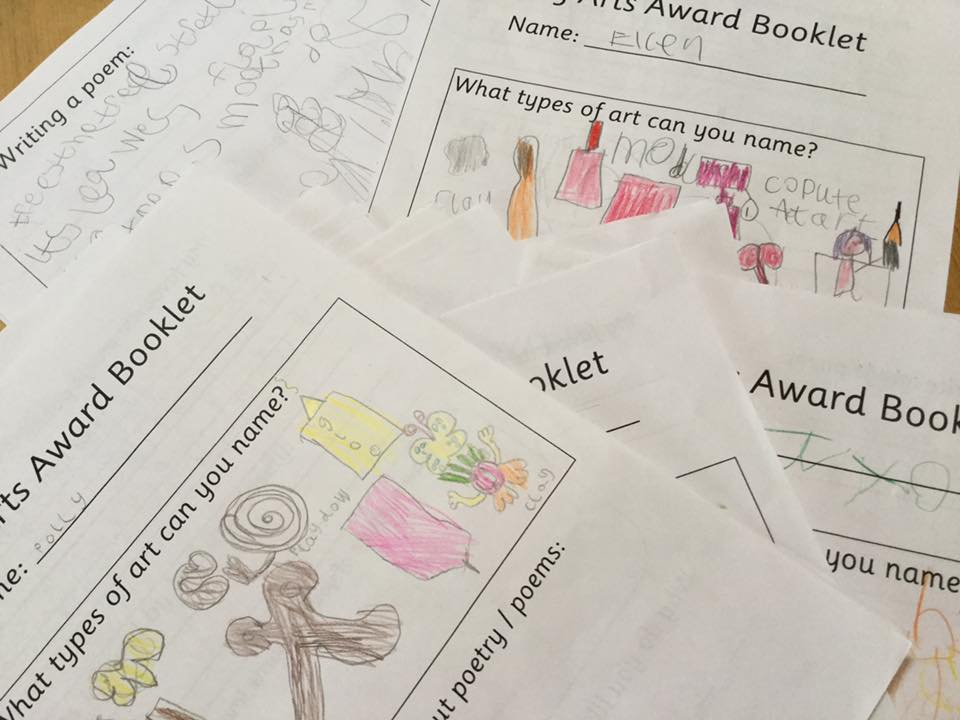 Arts Award Discover workshops