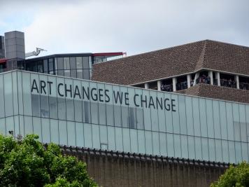 Tate Modern: 'Art Changes We Change'