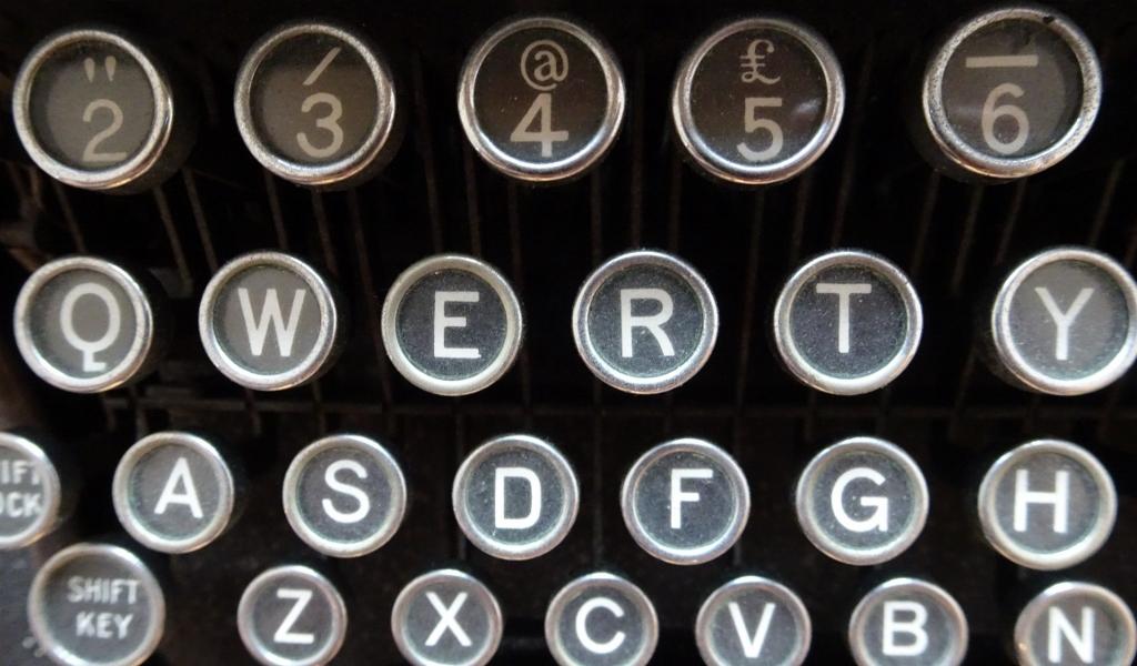typewriter - Katie Hale
