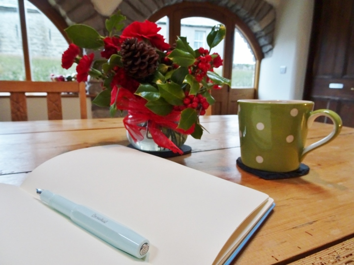 new year writing resolutions: Katie Hale