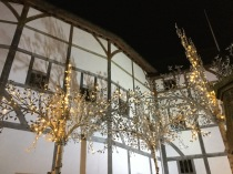 Globe Theatre: trip to London to the T S Eliot Award reading