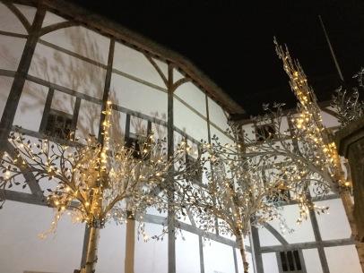 Globe Theatre: trip to London to the T S Eliot Award reading