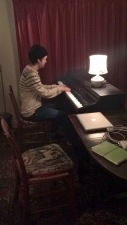 Stephen Hyde busy composing
