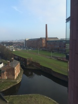 View from the writing desk in Manchester