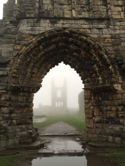 St Andrews in the mist