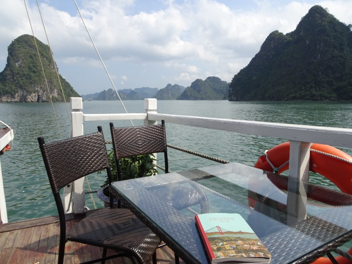 Writing in Halong Bay, Vietnam - Katie Hale