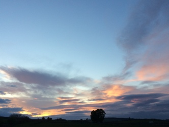 A Cumbrian sunset
