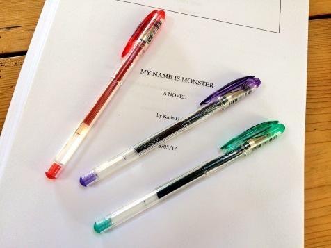 Editing the novel