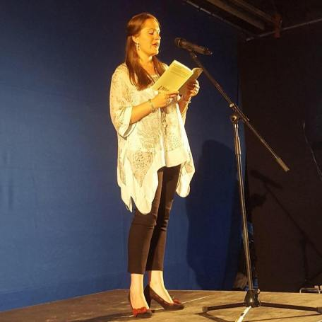 Katie Hale - Breaking the Surface pamphlet launch